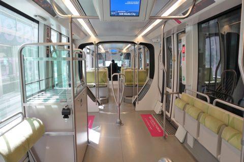 dubai-tram/女性専用車両