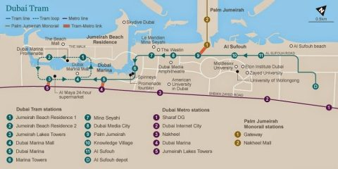 dubai-tram-map