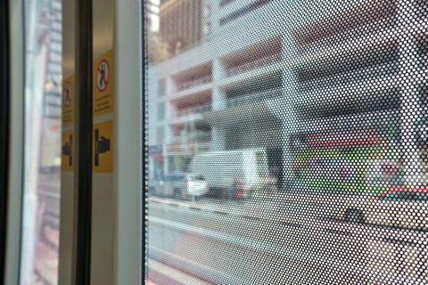 dubai-tram/車窓