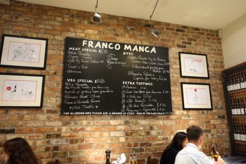 franco-manca-london/営業時間