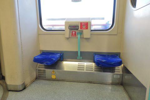 london-DLR/車椅子スペース