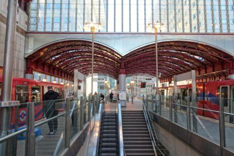 london-DLR/乗り換え駅