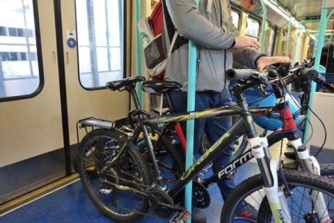 london-DLR/自転車