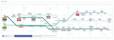london-DLR/路線図