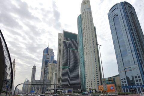 ドバイのビジネス街