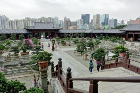 Chi-Lin-Nunnery/中庭