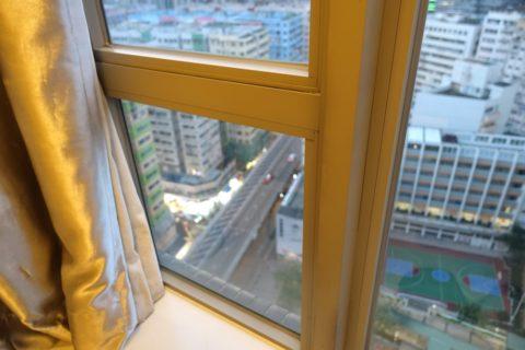 Dorsett-Mongkok/窓の防音
