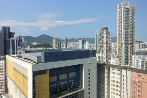 Dorsett-Mongkok/高層階からの眺め
