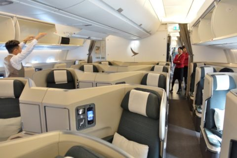 cathaypacific-businessclass-a350/シート配列