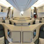 キャセイパシフィック航空A350ビジネスクラス搭乗記!ヘリンボーンシートを詳しく見る