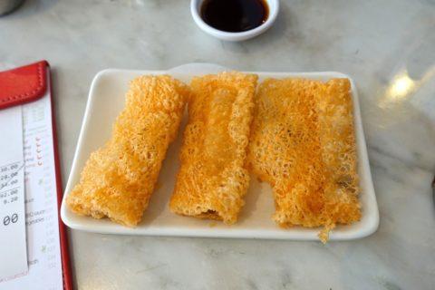 米網齋春巻(Spring Rolls with Sauteed Muschrooms)