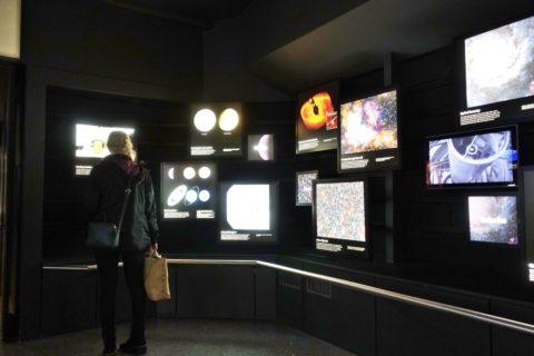 greenwich天文台/星の展示