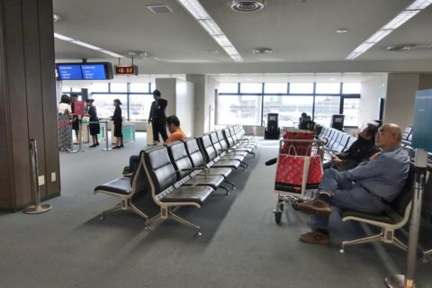 成田空港搭乗ゲート
