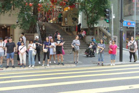 香港の服装