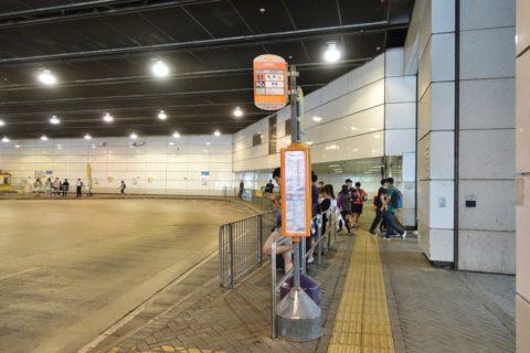東涌駅S1バス乗り場