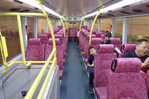 香港路線バス2階席