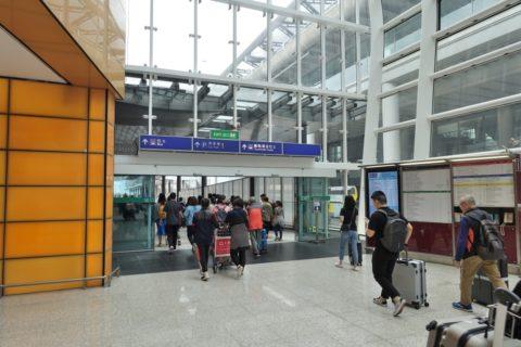 香港空港バス乗り場への行き方