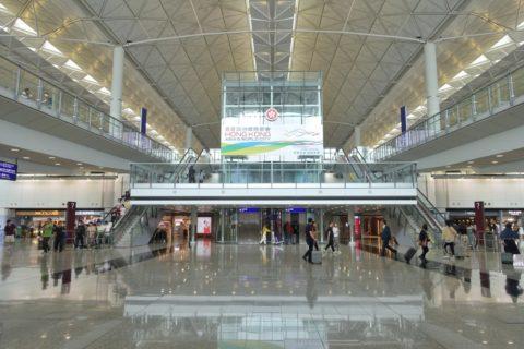 香港空港ターミナル