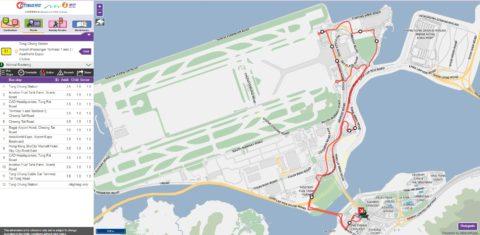 香港S1バスルート
