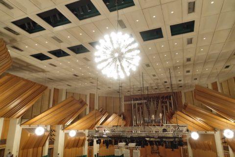 hongkong-culture-centre/コンサートホールの天井