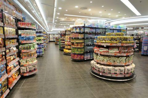 香港の大型スーパー