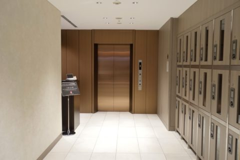 jal-firstclass-lounge-narita-4f/エレベーター