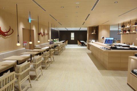 jal-firstclass-lounge-narita-4f/寿司のあるダイニング