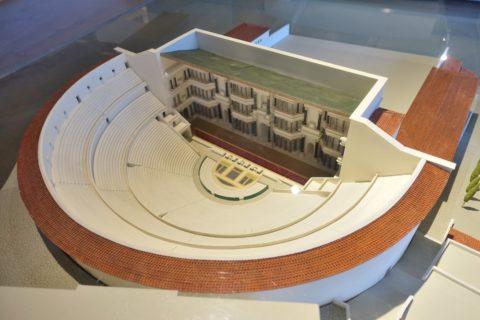 lugdunum-musee-et-theatres-romains/ローマ劇場の模型