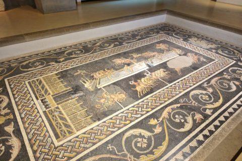 lugdunum-musee-et-theatres-romains/キルクスのモザイク画