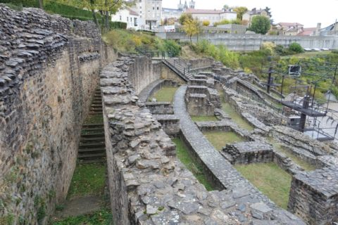 lugdunum-musee-et-theatres-romains/ローマ劇場の跡