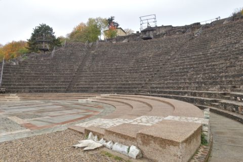 lugdunum-musee-et-theatres-romains/ステージからの眺望