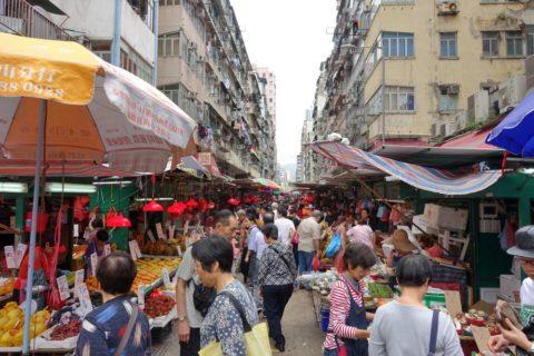 mongkok-market-hongkong/廣東道(Canton St.)