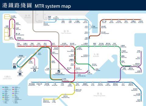 octopus-hongkong-mtr/路線MAP