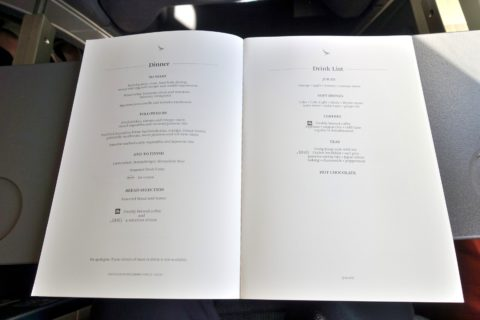 cathaypacific-businessclass-777/機内食メニュー