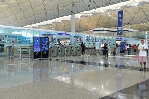 香港空港保安検査場