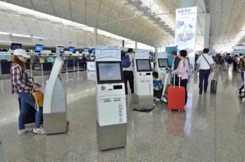 香港空港スマートチェックイン