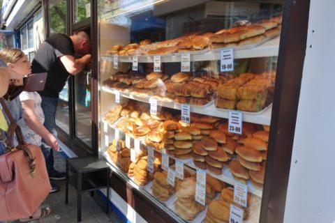 ウラジオストクのパン屋