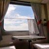 只今シベリア鉄道で移動中…、007号の1等車からレポート!