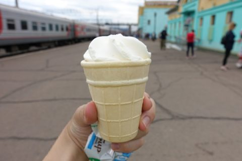 siberian-railway-uran-ude/バニラアイス