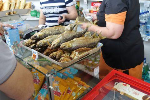 siberian-railway-uran-ude/魚の販売