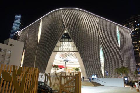 xiqu-centre-hongkong/ライトアップ