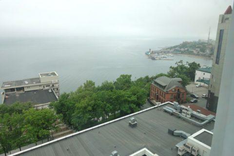 AZIMUT-Hotel-Vladivostok/窓の景色