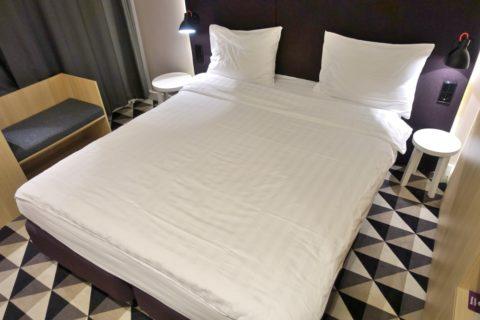 AZIMUT-Hotel-Vladivostok/ベッド