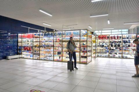 ノヴォシビルスク空港の免税店