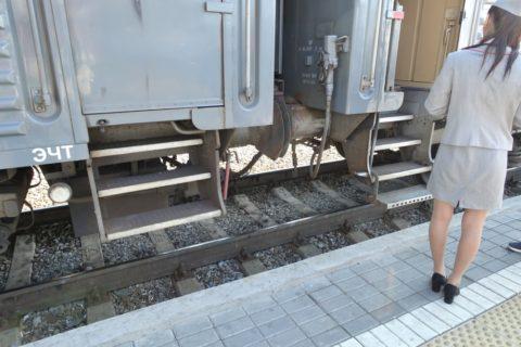 シベリア鉄道の段差
