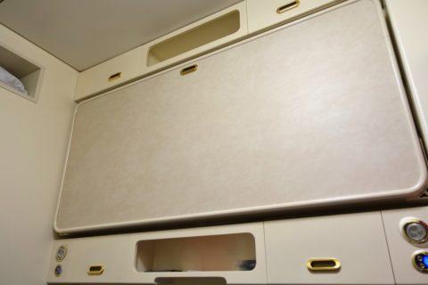 上段のベッド収納/オケアン号リュークス