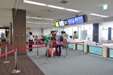 成田空港91番搭乗口