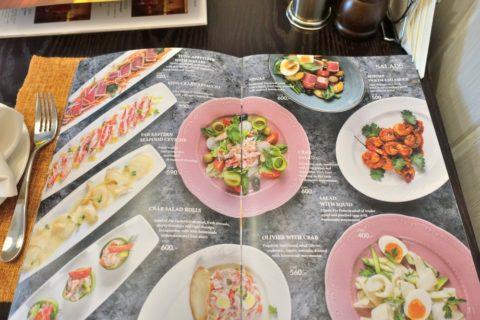 SVOY-Restaurant/メニュー