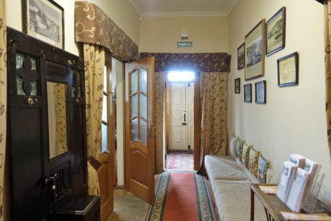 Sukhanov-Museum/廊下とレセプション