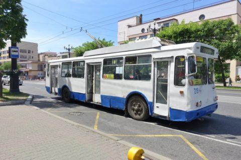 khabarovsk/トロリーバス